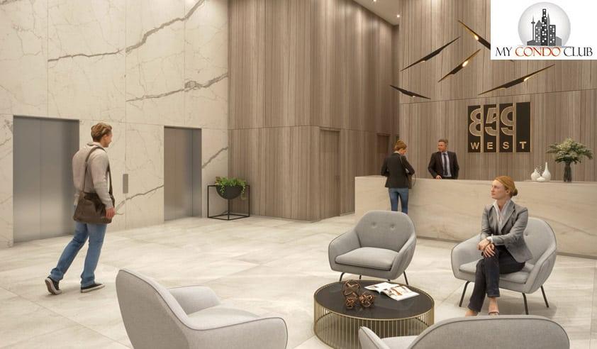 859westqueenswaycondos-lobby-reception-859etobicoke-mycondoclub-latch-firstavenue-properties