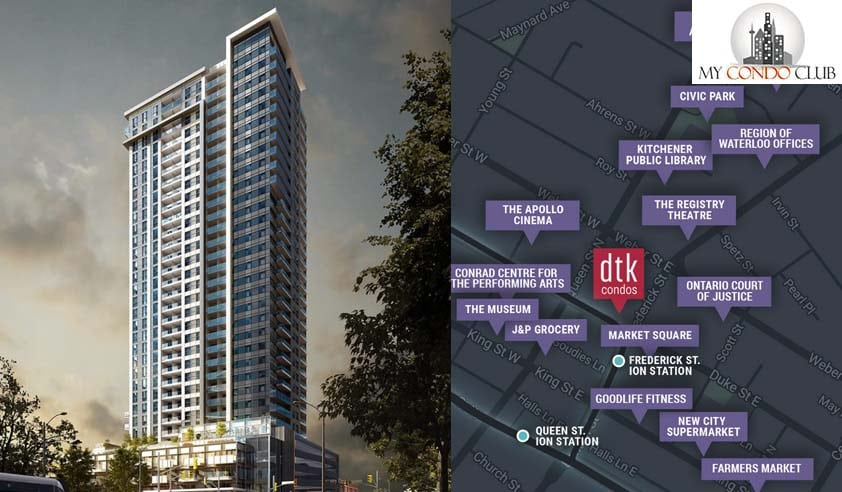 Dtk Condos In Kitchener I Plans Prices Incentives Mycondoclub